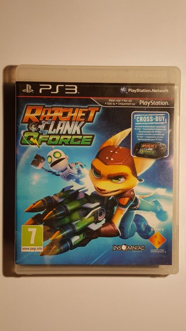 Igrica RATCHET AND CLANK Q FORCE je originalan disk i namenjena za - Beograd