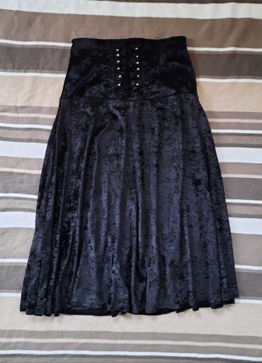 Luksuzna plisana suknja duža dublji struk. Veličina S. Kupljena u
