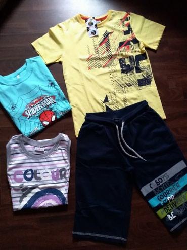 Dečija odeća i obuća   Ruma: Paket nove garderobe za dečaka. Domaći proizvodjači. Veličina 12