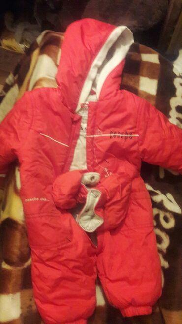 Детские флис - Кыргызстан: Детский комбинезон.Фирменный брали за 3500с. С рождения до 6 мес
