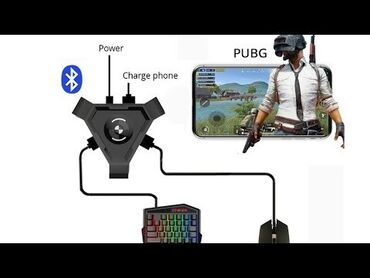 Convertor (Pubg mobile)bluetooth vasitesi ile telefona qosulur