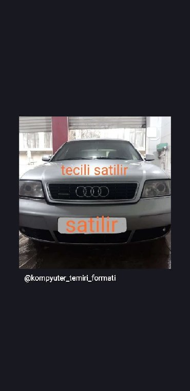audi-a6-3-multitronic - Azərbaycan: Audi A6 2.7 l. 2000 | 270 km