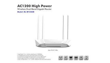 wifi modem - Azərbaycan: Wifi deyil Routerdi. (LB-LİNK AC 1200)  Xüsusiyyətləri: - 802.11ac sta