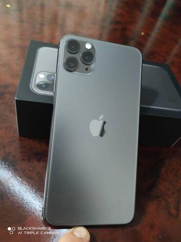 купить бу iphone 11 pro в Кыргызстан: Б/У IPhone 11 Pro Max 256 ГБ Серебристый
