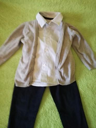 Pantalone sa na - Srbija: Paket odeće za decaka, vel. 86, 92, prelep i očuvan. Pantalonice