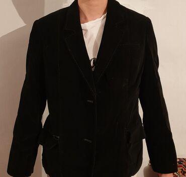 Личные вещи - Арчалы: Пиджак женский, бархат, цвет чёрный, состояние хорошее, один карман