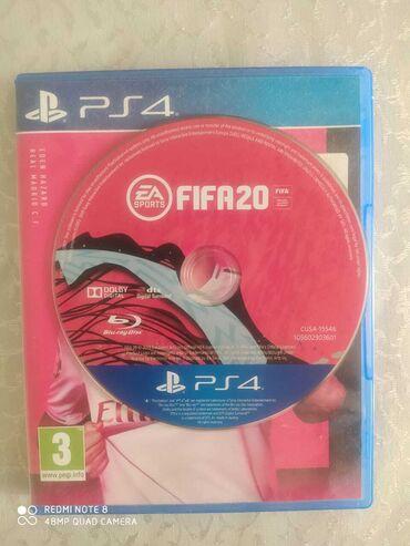 PS4 (Sony Playstation 4) - Azərbaycan: PS4 üçün orijinal FİFA20 oyun diski satılır. Yaxşı vəziyyətdədir