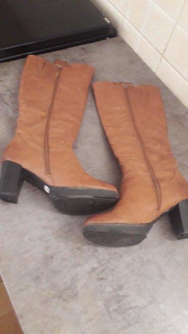 Ženska obuća   Pozarevac: Veoma kvalitetne, Riker braon oker duboke cizme, postavljene, tople.Br