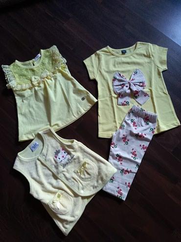 Paket nove garderobe za devojčicu. Veličina 86 - Ruma