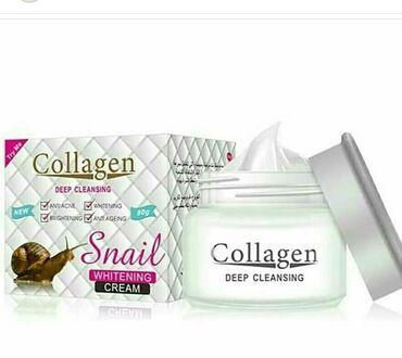 Kosmetika - Xırdalan: Коллаген укрепляет эпидермис и поддерживает его, даря коже упругий