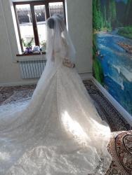 бу свадебное платье в Кыргызстан: Свадебный платья на прокат. Фата  Веточка(аксессуар для причёски)  Бук
