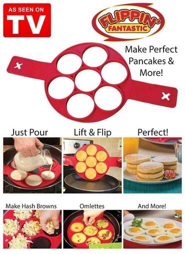 Flipin Fantastic Silikonski Kalup za idealne Palacinke, jaja, omlete i