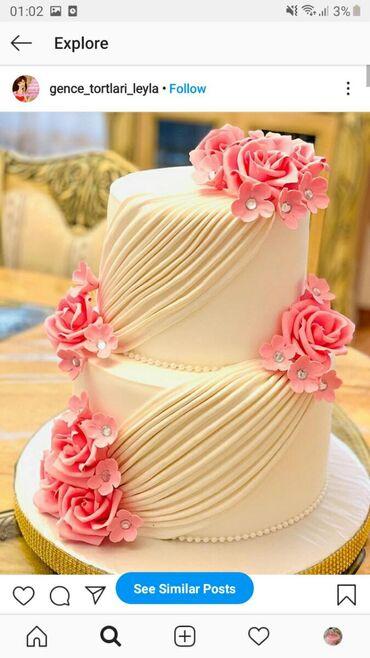Keytrinq Bakıda: Her dekorda tortlarin sifariwi qebul olunur