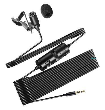 Аудиотехника - Кыргызстан: Петличный микрофон Green Audio GA-M1 Бишкек  Размер микрофона: Φ6,0 ×