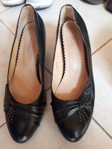 Crne elegantne cipele odg. 40br. odlicne. Izgledaju kao na slikama. - Jagodina