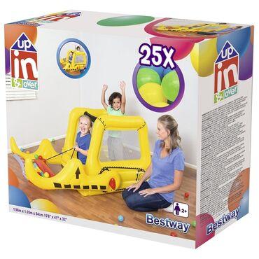 Детский мир - Орто-Сай: Детский игровой центр в виде бульдозера предназначен для детей от 2