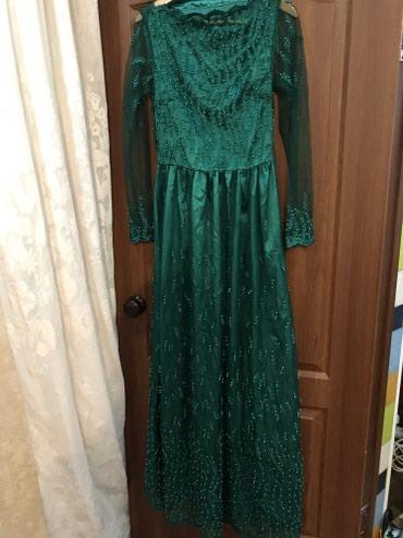 Шакарное вечернее платье 44-46 размер, в Бишкек