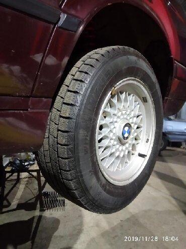глобал шина в Кыргызстан: Продам диски бмв е34 р15 в отличном состоянии с новой зимней резиной