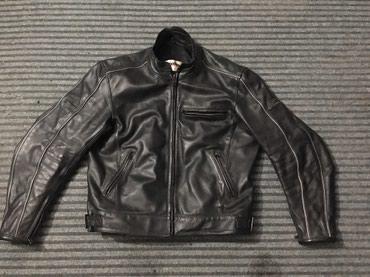 Crna k - Srbija: Moto jakna kožna 1,5mm br 56 sa prtektorima