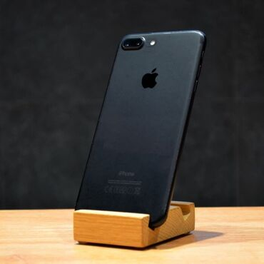 купить iphone бу в рассрочку в Кыргызстан: Б/У iPhone 7 Plus 256 ГБ Черный