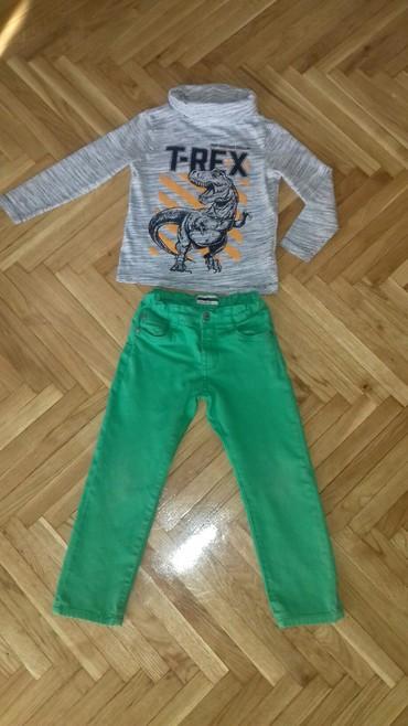 Majica i pantalone za dete od 4-5god. Vel.110 pantalone,majica 116 ali - Smederevo