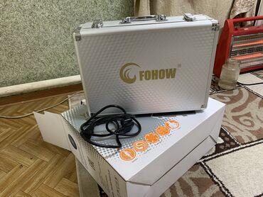 Электрический прибор для массажа от компании FOHOW. Комплект полный