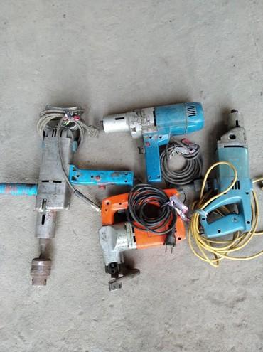 Инструменты в Кок-Ой: Электродрели мощностью -700-800 wОборот до -800мин.Конкретные