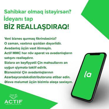 tap az biznes avadanliqlari - Azərbaycan: Yeni biznes qurmaq fikrindəsiniz? O zaman, vaxtınız qızıldan