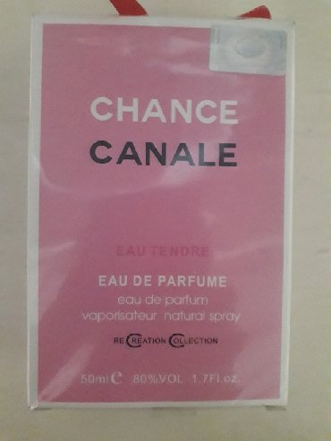 chance eau tendre в Кыргызстан: Chance Canale. 50 ml.e 80vol. Хороший оригинальный парфюм