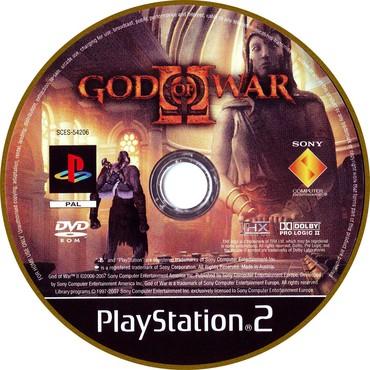 PS2 & PS1 (Sony PlayStation 2 & 1) Azərbaycanda: GodOfWar2.Ps2 üçün.Yenidir.Sayı çoxdur
