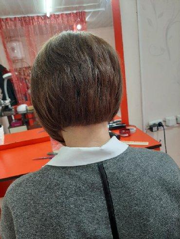 услуги маникюра в Кыргызстан: Все виды парикмахерских услуг :стрижки муж-150 ;жен -200 и выше