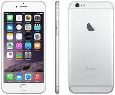 чан в Кыргызстан: Б/У iPhone 6 64 ГБ Серебристый
