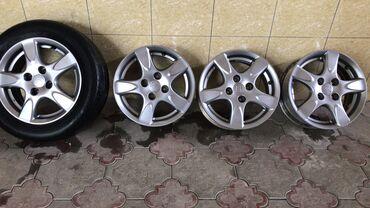 глобал шина в Кыргызстан: Родные литые диски для Хонду Жаз или для Хонду Фит 14 го размера без