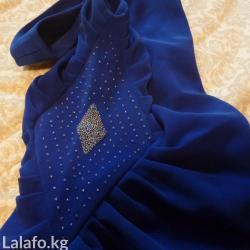 Платье с перчатками, вышивка - бисер ручная работа. в Бишкек