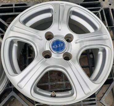 alfa romeo mito 14 мт в Кыргызстан: Диски литые Bridgestone Feid R14, 4-100Диски б\у в отличном состоянии