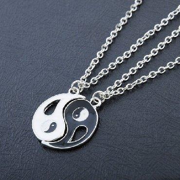 что подарить девушке на др в Кыргызстан: Набор ожерелья (2 шт ожерелья) Один для вас, и один для вашего лучшего