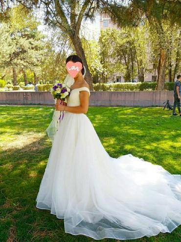 """salon krasoty belleza в Кыргызстан: Продаю очень красивое нежное свадебное платье от """"Wedding salon"""", цвет"""