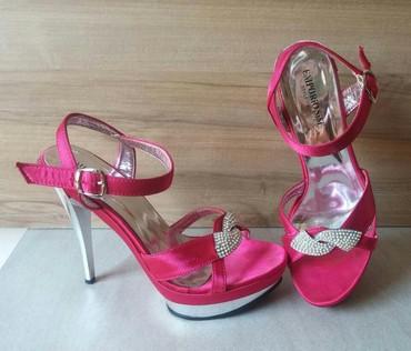La scarpa sandale u pink boji, nosene par puta, veoma udobne, broj 40. - Belgrade