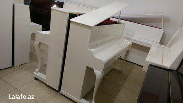 Bakı şəhərində Rönisch piano - royal modelli, gözel seslenmeye sahib ince pianodur.