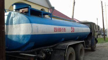 Kamazin üstündəki su çən satilir 15 tonluqdu ustunde 76liq su nasosu R