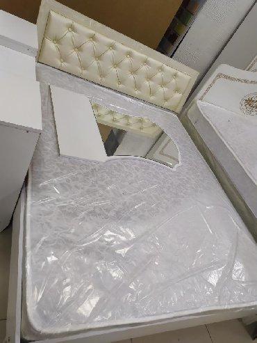 Двуспальные кровати в Кыргызстан: Кровать с матрасом