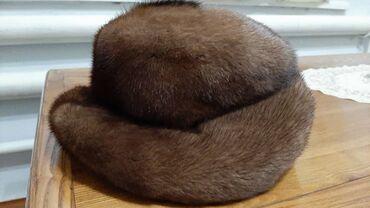 варежки и шапка в Кыргызстан: Продаётся норковая шапка в хорошем состоянии