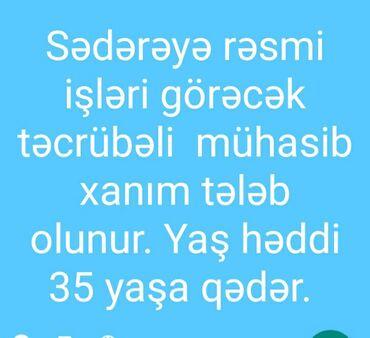 mk 2063 - Azərbaycan: Mühasib. Təcrübəli. 6/1. Yasamal r-nu