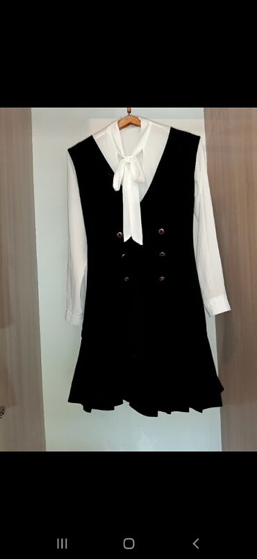 Платья - Джалал-Абад: Супер сарафан для супер девушек. Чёрный  Плотный ткань