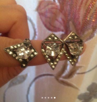 Серебрянный комплект из черненного в Бишкек