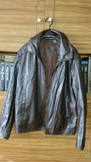 Кожаная куртка. размер xl. в идеальном состоянии. турция в Бишкек