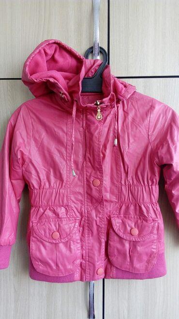 Срочно, продаю кожаную куртку на девочку, на 3-4-5 лет, в зависимости