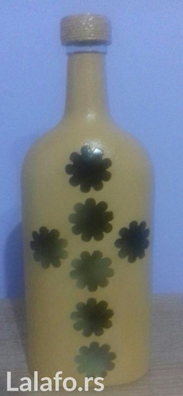 Slavski komplet flaša +čizma ikebana - Krusevac