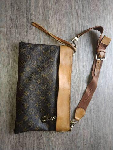 louis vuitton klatch в Кыргызстан: Продаю сумку louis vuitton натуральная кожа