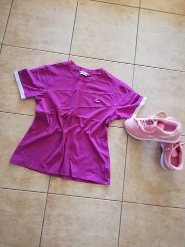 Majica pink Vel. M. Saljem post espresom - Jagodina